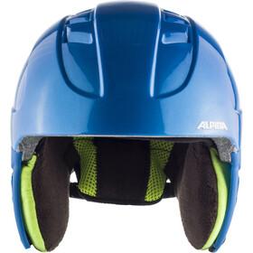 Alpina Carat Casque de ski Enfant, blue-monkey